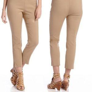 Boston Proper Cropped Tan Pant